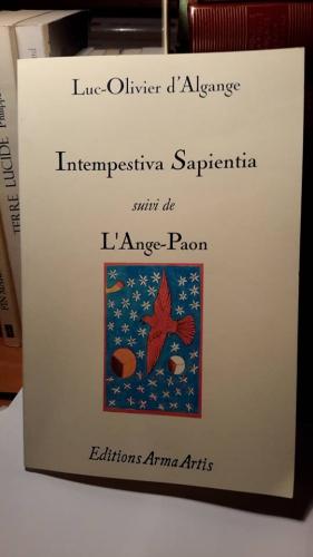 Intempestiva Sapientia, couverture.jpg